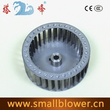140mm 304 en acier inoxydable ventilateur centrifuge à turbine roue lame résistant à haute température résistant à la corrosion