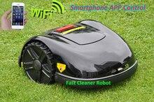 NEUESTE GYROSKOP Funktion Smartphone WIFI APP Roboter-rasenmäher E1600T mit Wasser-isoliert ladegerät Zeitplan
