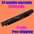 Jigu 4 bateria do portátil celular para asus x550c x452c x452e x550cl x450vc x450e r510e f552e f550e a450ca a450ve x450la x450vc