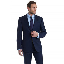 2017 Terno Custom Made Men Suits For Wedding Notched Lapel Groom Tuxedos Two Piece Mens Slim Fit Groomsmen Suit (jacket+pants)