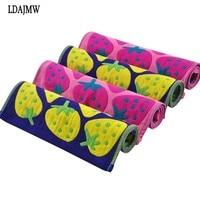3PCS Cotton Strawberry Pie Amall Towel Gauze Scarf For New Baby Children Kids Gift Man Woman