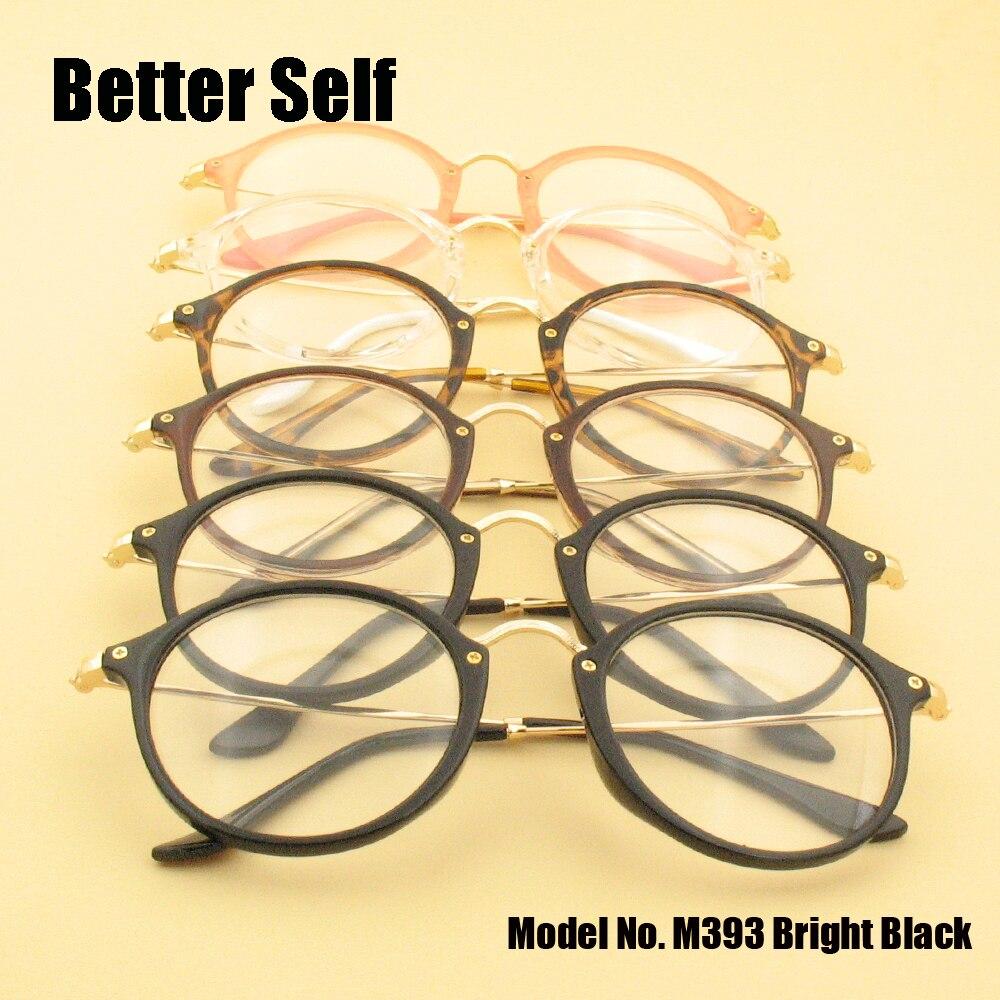 ộ_ộ ༽M393 vintage gafas hombres gafas marcos ópticos mujeres moda ...