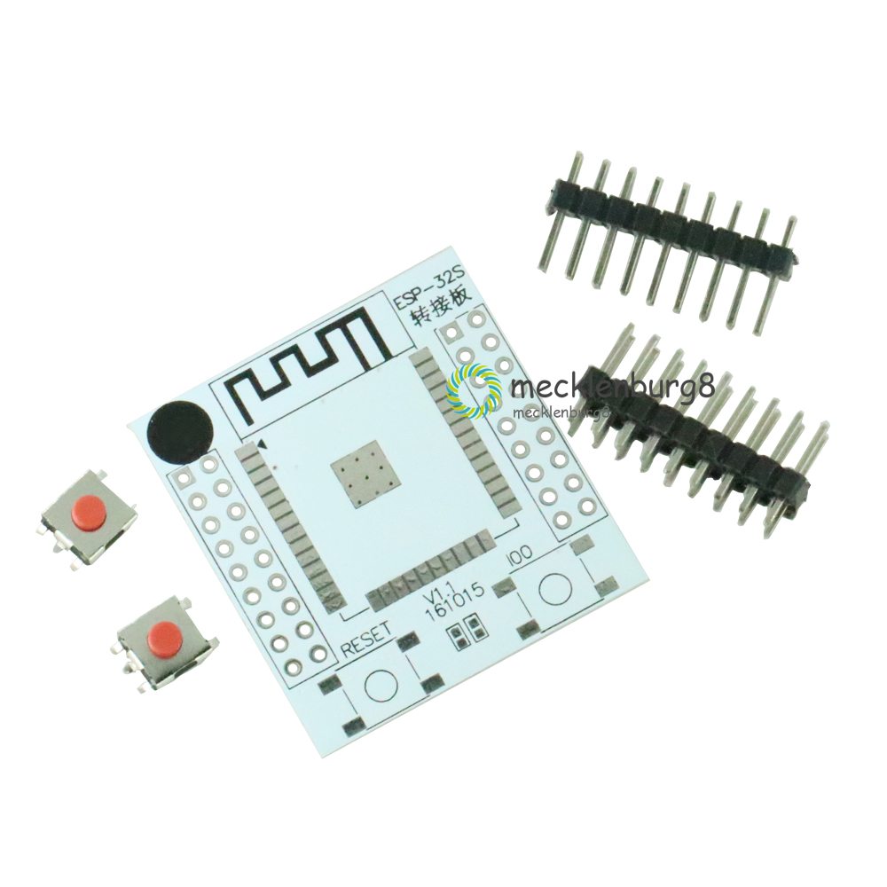 ESP32 ESP32S Adapter IO Base PCB Dashboard Converter With 4 String Pins For ESP-32S Wireless Wifi And Bluetooth Adapter Module