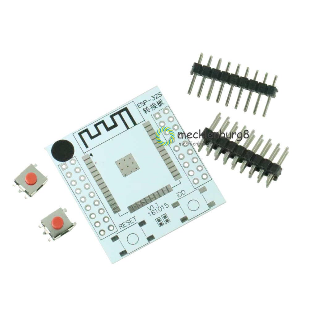 ESP32 ESP32S adaptateur IO Base PCB tableau de bord convertisseur avec 4 broches pour ESP-32S sans fil Wifi et Bluetooth adaptateur Module