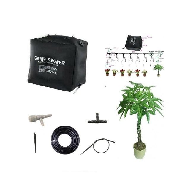 Us 34 93 30 Di Sconto 40l Casa Micro Impianto Di Irrigazione Balcone Bonsai Fiore Di Irrigazione A Goccia Di Auto In Qualita Di Kit Di Irrigazione