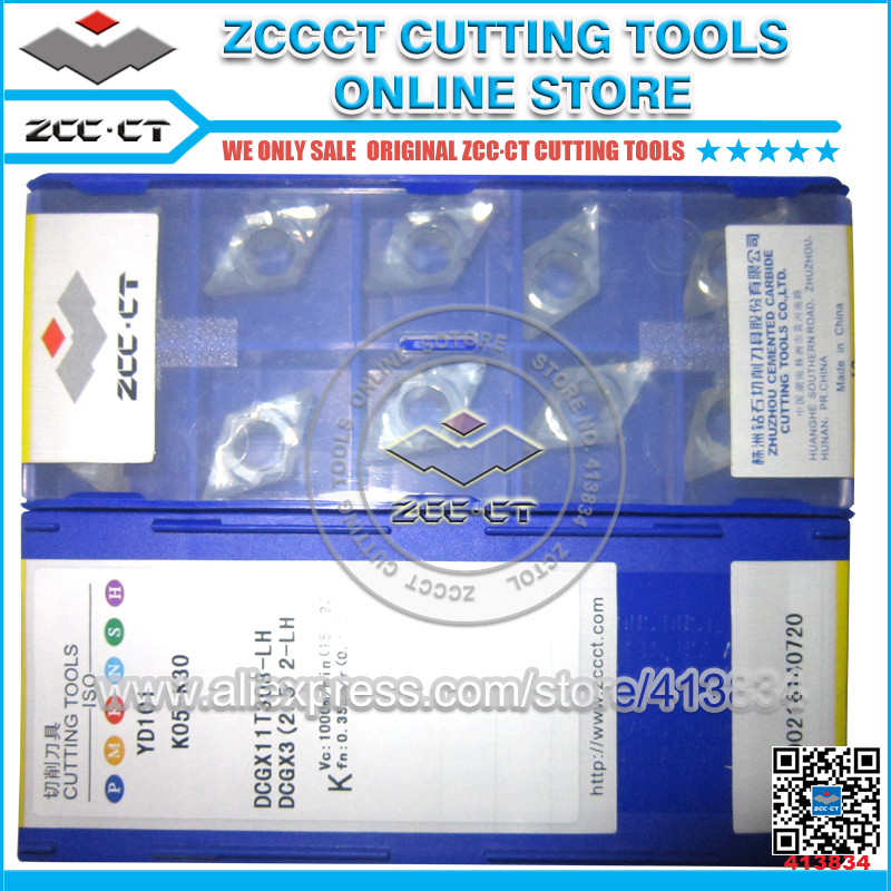 Free Shipping ZCCCT turning tool inserts for aluminum 1 pack