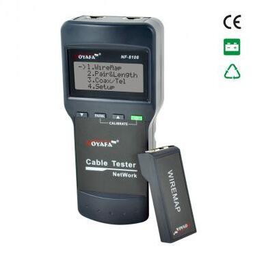 Livraison gratuite, Noyafa NF-8108 Cat.5E / 6E UTP STP câble réseau testeur vérifiez erreur de câblage dans 5E