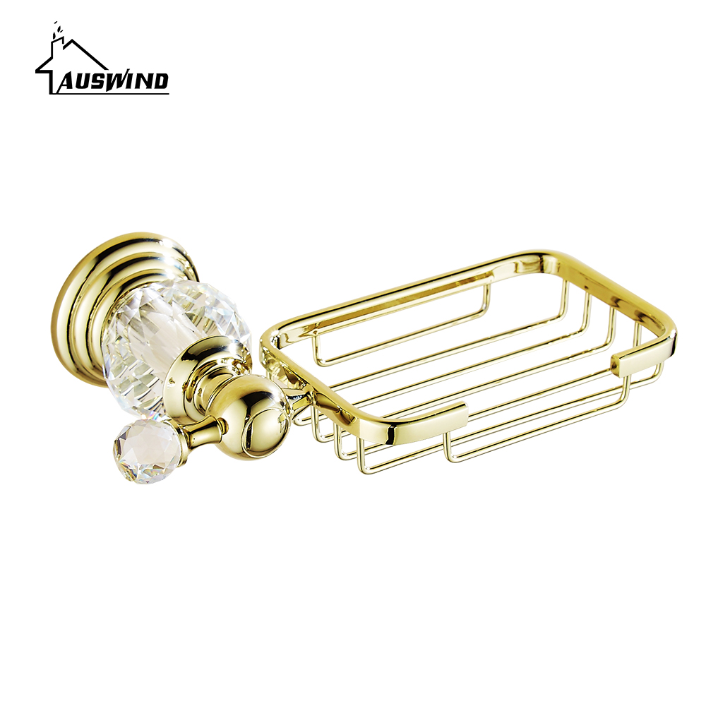 Brass bathroom accessories sets - Aliexpress Com Buy Antique Polished Gold Crystal Bathroom Accessories Sets Solid Brass Bathroom Products Polish Finish Bathroom Sets From Reliable