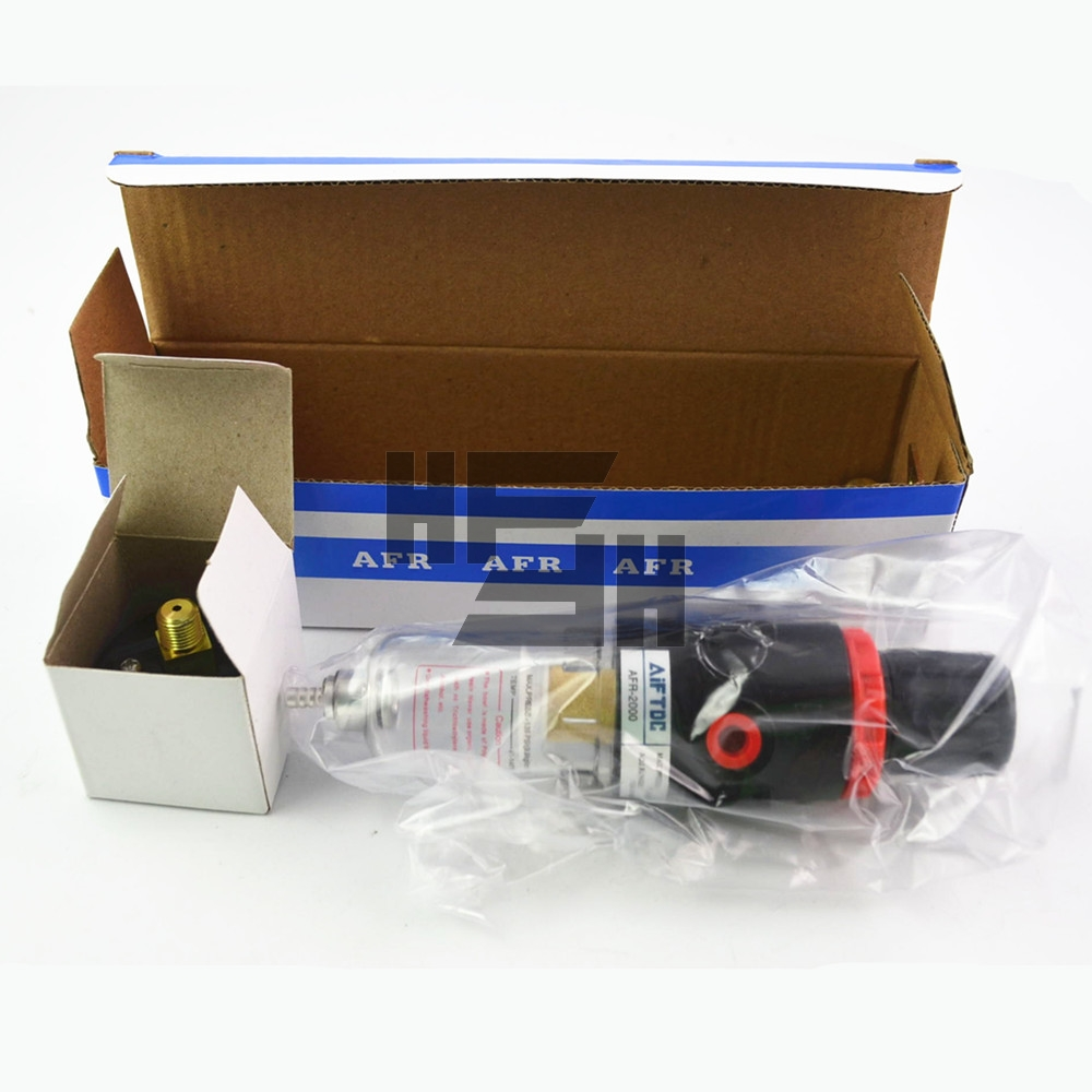 AFR-2000 Pneumatische Filter Regler Air Behandlung Einheit Manometer AFR2000 Schalter