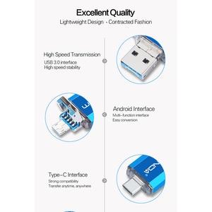 Image 2 - Флеш накопитель Wansenda OTG 3 в 1, USB 512, Type C и Micro USB, 256 ГБ, 128 ГБ, ГБ, 64 ГБ, 32 ГБ, 16 ГБ, флеш накопитель USB