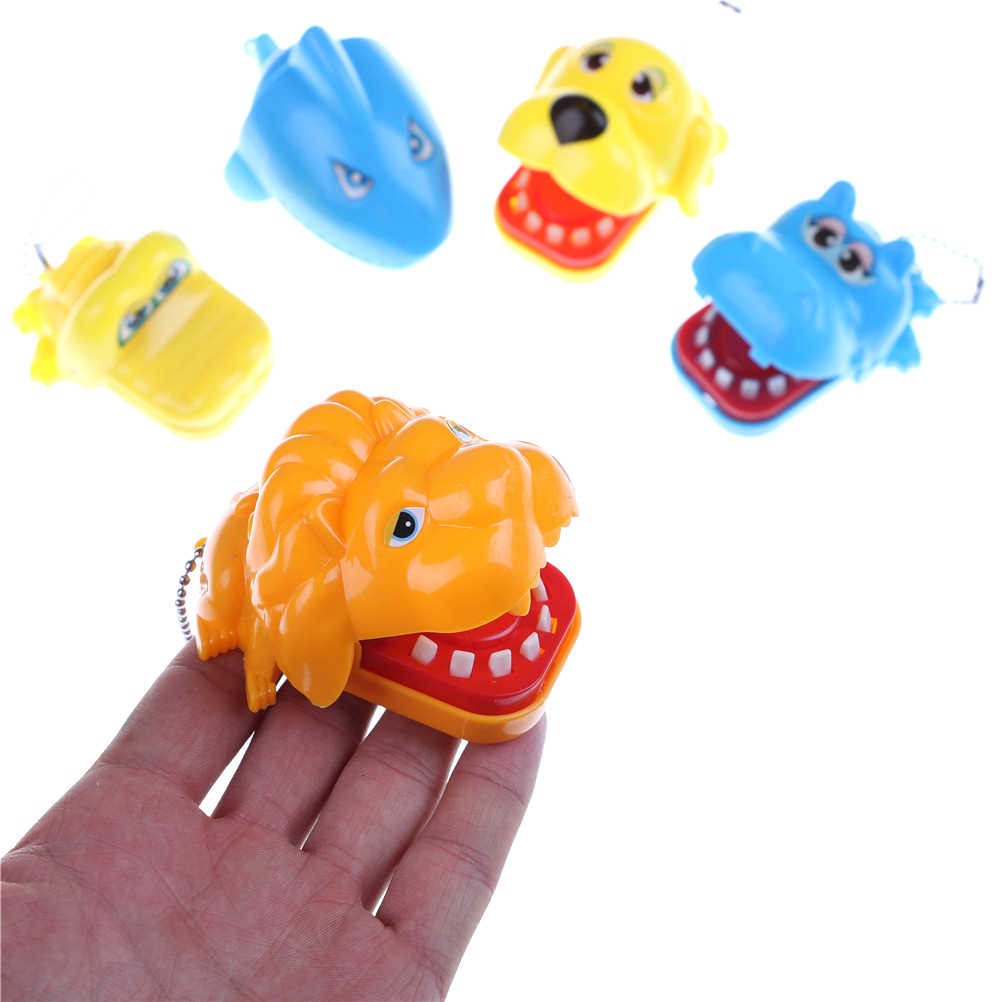 كبير فرس النهر الكلب الأسد التمساح القرش الفم طبيب الأسنان لدغة الجدة مضحك فنجر لعبة الكمامة لعبة للأطفال