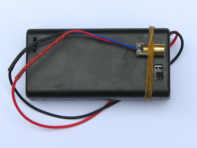Infrarotlaser Alarm Switch Sound Light Alarm  Senser Security Diy Kits