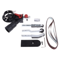 Sander Sanding Belt Adapter Head Convert M10 DIY For 100mm 4 Inch Electric Angle Grinder Polishing