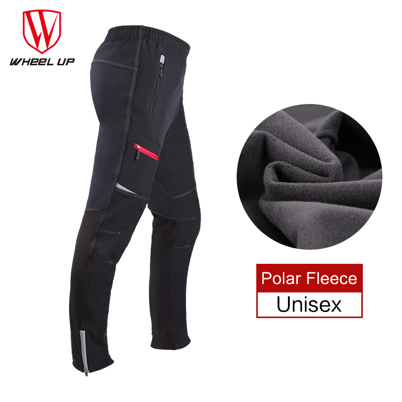Thermal Fleece Winter cycling pants Men long bike pants warm pockets bicycle mtb Sports trousers windproof cycling clothing 2017 santic men winter cycling pants thermal fleece windproof mtb road bike pants 4d padded bicycle long pants cycling clothes