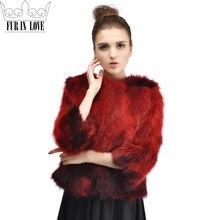 2016 Women's Fashion Real Raccoon Fur Coat Elegant Fashion Genuine Raccoon Fur Outwear Top Quality Natural Real Fur Jacket