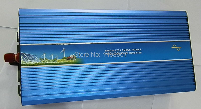 4000W Pure Sine Wave Inverter DC to AC Power Inverters, 8000W Peak Power, 4000 Watt Wind Solar Off Grid System Inverter