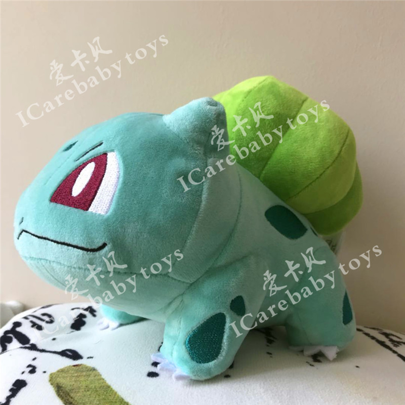 Comic Small 8 Inches Gosanke Plush Bulbasaur,Quality Goods Soft Stuffed Plush Toy Free Shipping
