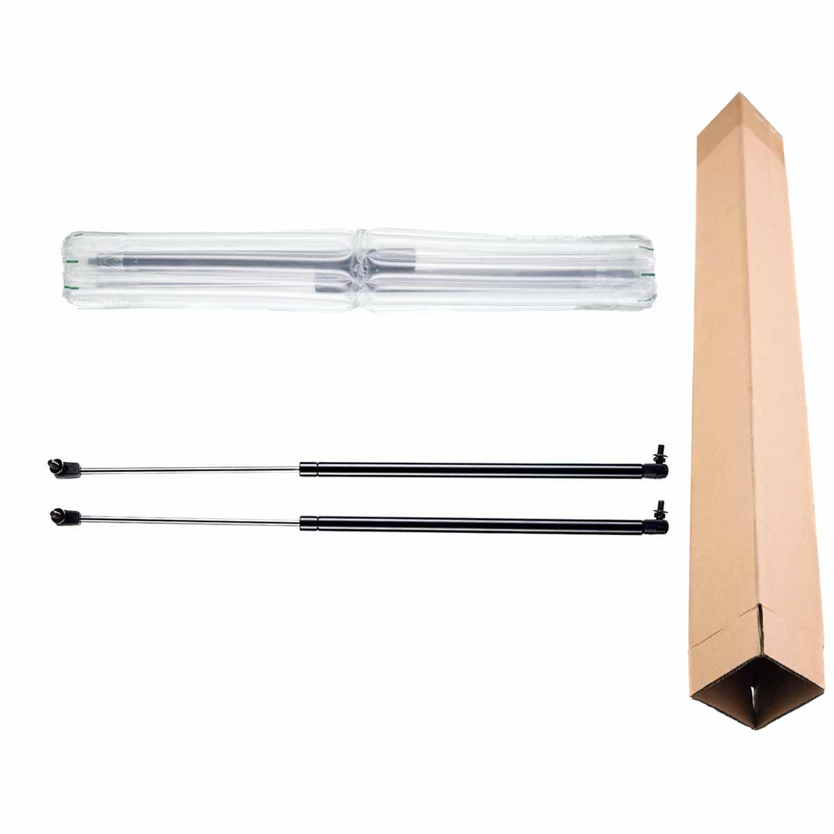 2x Rear Trunk Tailgate Lift Supports Shock Gas Struts For