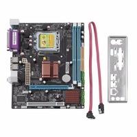 2017 NEW P45 Desktop Motherboard Mainboard Socket LGA 771 775 2 DDR3 8GB Dual Board Support
