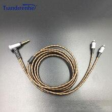 A2DC наушников сменный кабель серебрение HIFI аудио кабель для ATH-CKR100is CKR90 CKS1100is E40 E50 E70 LS50 LS300 LS400