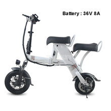 Mini Foldable Electric Scooter Single/Double Person Smart City Walking Tool Adult Electric Bicycle Scooter 36V 8A Mileage 20km baby jogger city mini single