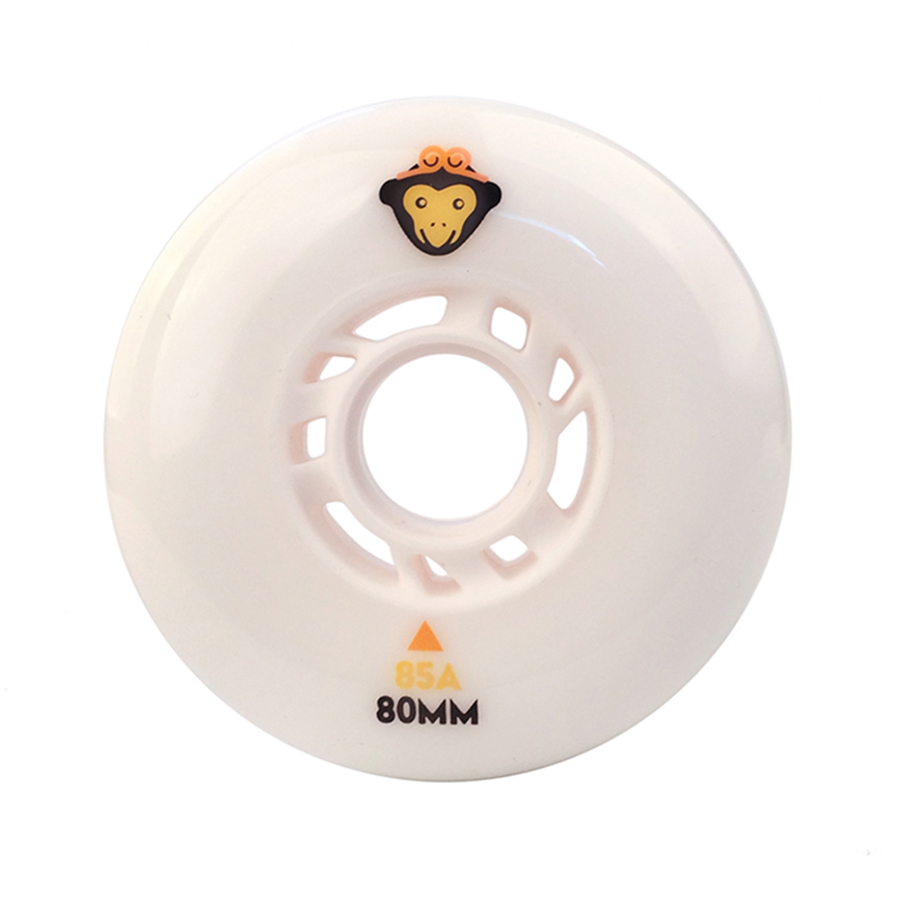Wukong Monkey Inline Skates Wheels Resistant 85A Slalom 90A Sliding 72 76 80mm Roller Skating Tires For SEBA Powerslide Patines