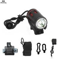 Glare Headlight 1200LM 18650 LED HeadLamp Body Motion Sensor LED Bicycle Head Light Lamp Outdoor Camping Flashlight with DC