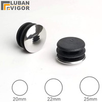Inside plug cover Plugging,Cover Decorative round hole plug for outer diameter 20mm Stainless steel tube pipe, 600pcs