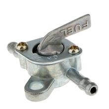 1 par Universal 6mm para depósito de gasolina de motocicleta, válvula de llave de grifo para motocicleta 50cc 125cc ATV Quad Dirt Bike, Etc.
