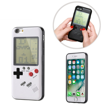 Retro game console phone case for Apple iPhone 7 8 Plus soft TPU Game Boy X 6 6s Coque