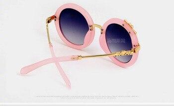 Round Mirror Kids Sunglasses  3