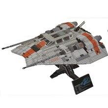 AIBOULLY Star серии Snowspeeder Модель Строительный кирпич комплект legoinglys 75144 Классические Образование игрушка для детей