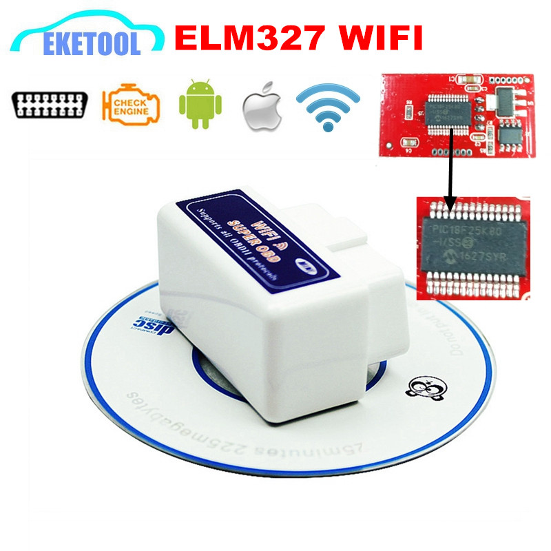 wireless wifi super obd elm327 v1 5 pic18f25k80 car. Black Bedroom Furniture Sets. Home Design Ideas