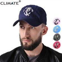 CLIMATE 2017 Youth Men Women Sea Force 3D Hooks Baseball Caps Great Sailing Ships Era Voyage Boat Anchor Cotton Adjustbale Hat