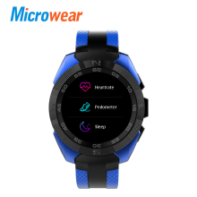 Microwear L3 Smart Watch MTK2502 Heart Rate Monitor Smartwatch Message Sync Call Reminder Remote for IOS Android Phone