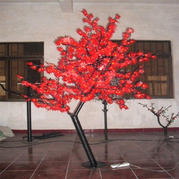 Lead Free Christmas Trees: Free Ship 864 LEDs 6ftHeight LED Maple Tree LED Christmas