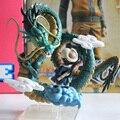 Мультфильмы дракон пвх рука - урон 3 игрушка украшение модель песня goku дракон г аниме фигурки крышка сцена бесплатно потягивая
