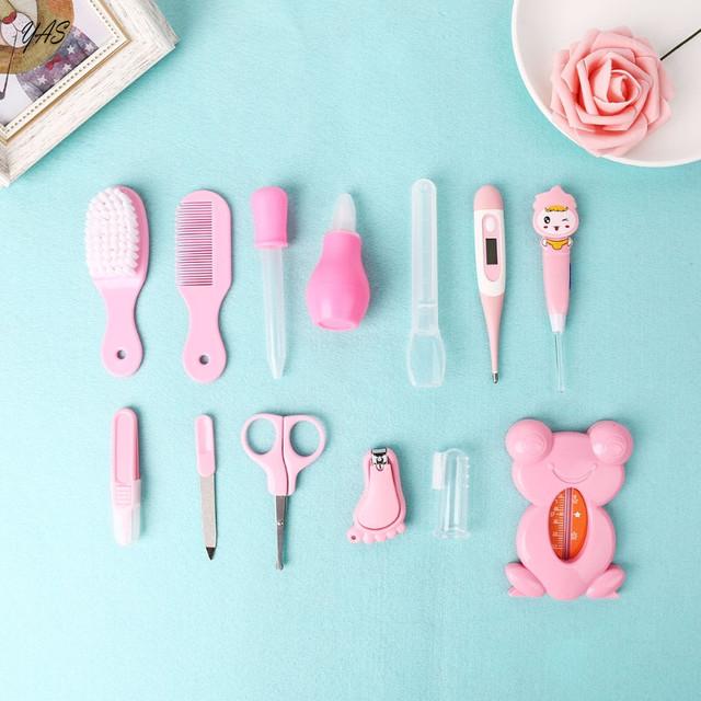 13pcs/Set Multifunction Newborn Baby Kids Nail Hair Health Care Kit