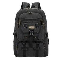 Men Bag 2017 Hot Big Fashion Canvas Backpacks For Men Travel Large Capacity Arcuate Shoulder Strap