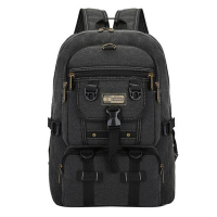 Men Bag 2017 Hot Big Fashion Canvas Backpacks For Men Travel Large Capacity Arcuate Shoulder Strap
