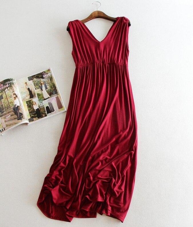 Fdfklak Одежда для беременных мягкая одежда платья длинные женское