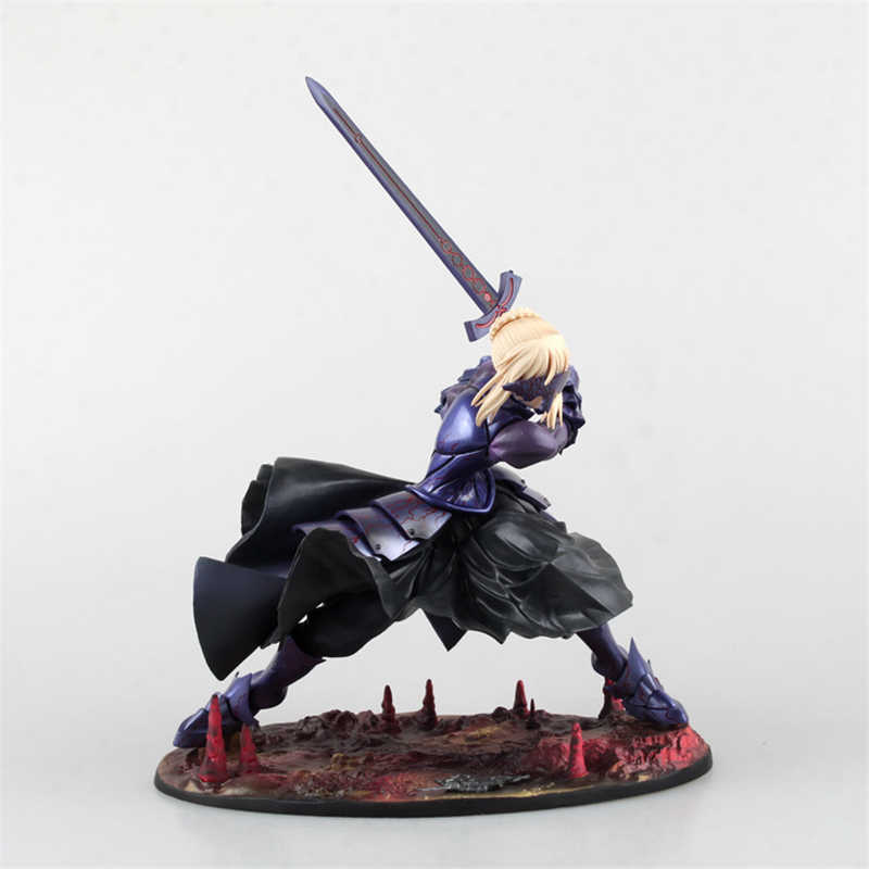 Anime Fate/Stay Night saber alter Vortigern ver. PVC Action Figure Collectible Modelo Brinquedos Boneca