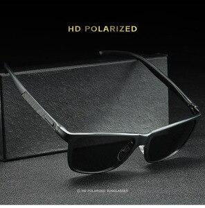 Image 3 - Bruno dunn Sunglasses Men Polarized 2020 Luxury Brand square metal frame male sun glasses oculos de sol masculino 2140 ray uv400