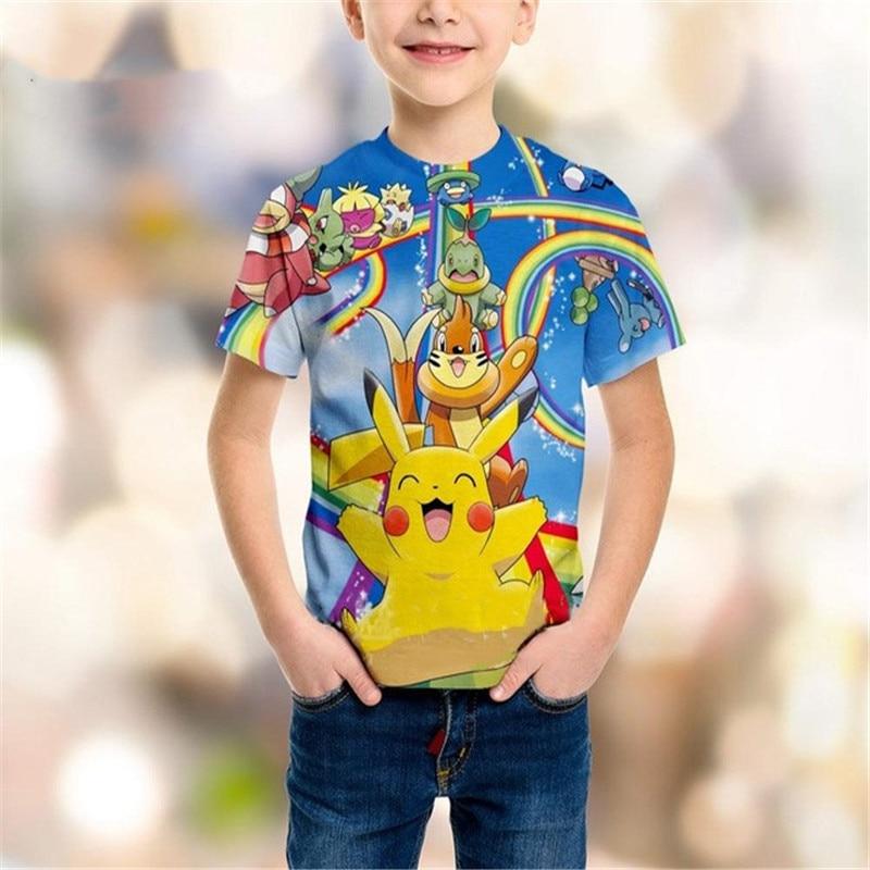 liumaohua-brand-summer-new-children-sweatshirt-3d-print-cartoon-anime-font-b-pokemon-b-font-t-shirt-boy-girl-short-sleeve-pullover-a-055