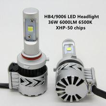 G8 Car LED Headlights 9006 HB4 XHP-50 Headlight Bulbs 36W 6000LM Head lamp Fog Lights 6500K H4 H7 H11 9005 HB3 Auto Kits