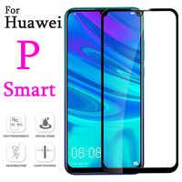 De vidrio para huawei p smart 2019 templado película protectora psmart protector de pantalla pi smat glas protección cristal smartp Armadura