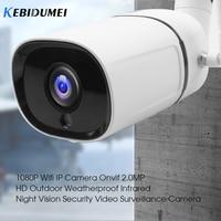 kebidumei Wireless IP Camera 1080p Resolution Outdoor Weatherproof Night Vision Security Video Surveillance Camera