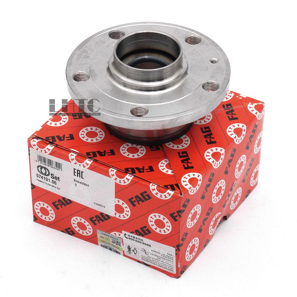 OE# 1T0 598 611 B Rear Wheel Hub Bearing Assembly For VW Jetta Golf Tiguan Passat CC AUDI A3 TT