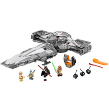 LEPIN  Star Wars Sith Infiltrator Building Block Set Darth Margus R2D2 Anakin Minifigures legoe 75096 Compatible