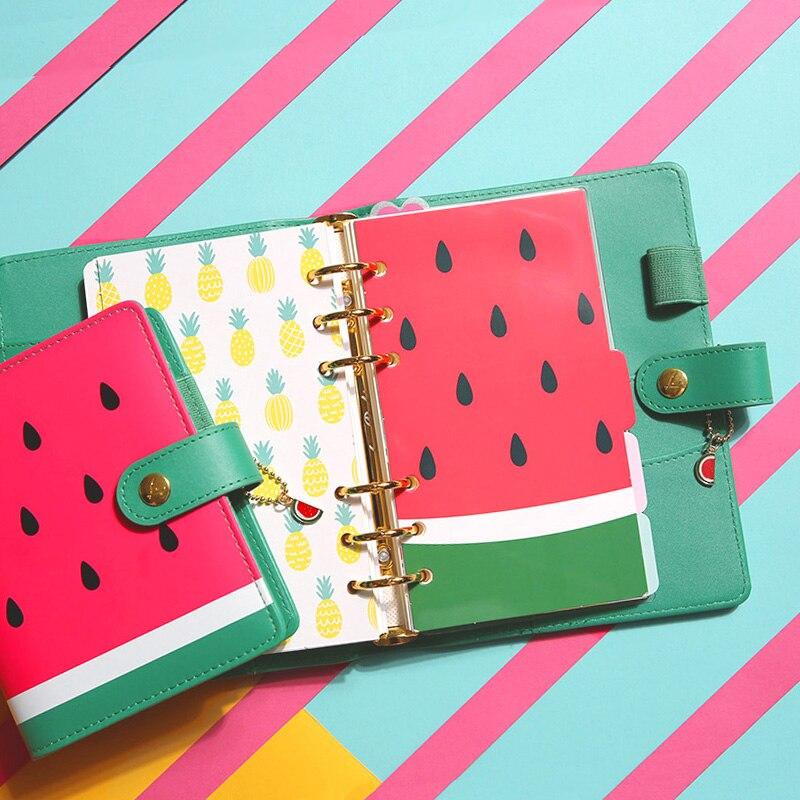 Doki cute summer series spiral notebook index dividers,cartoon
